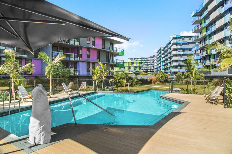 Student Accommodation Southport - pool