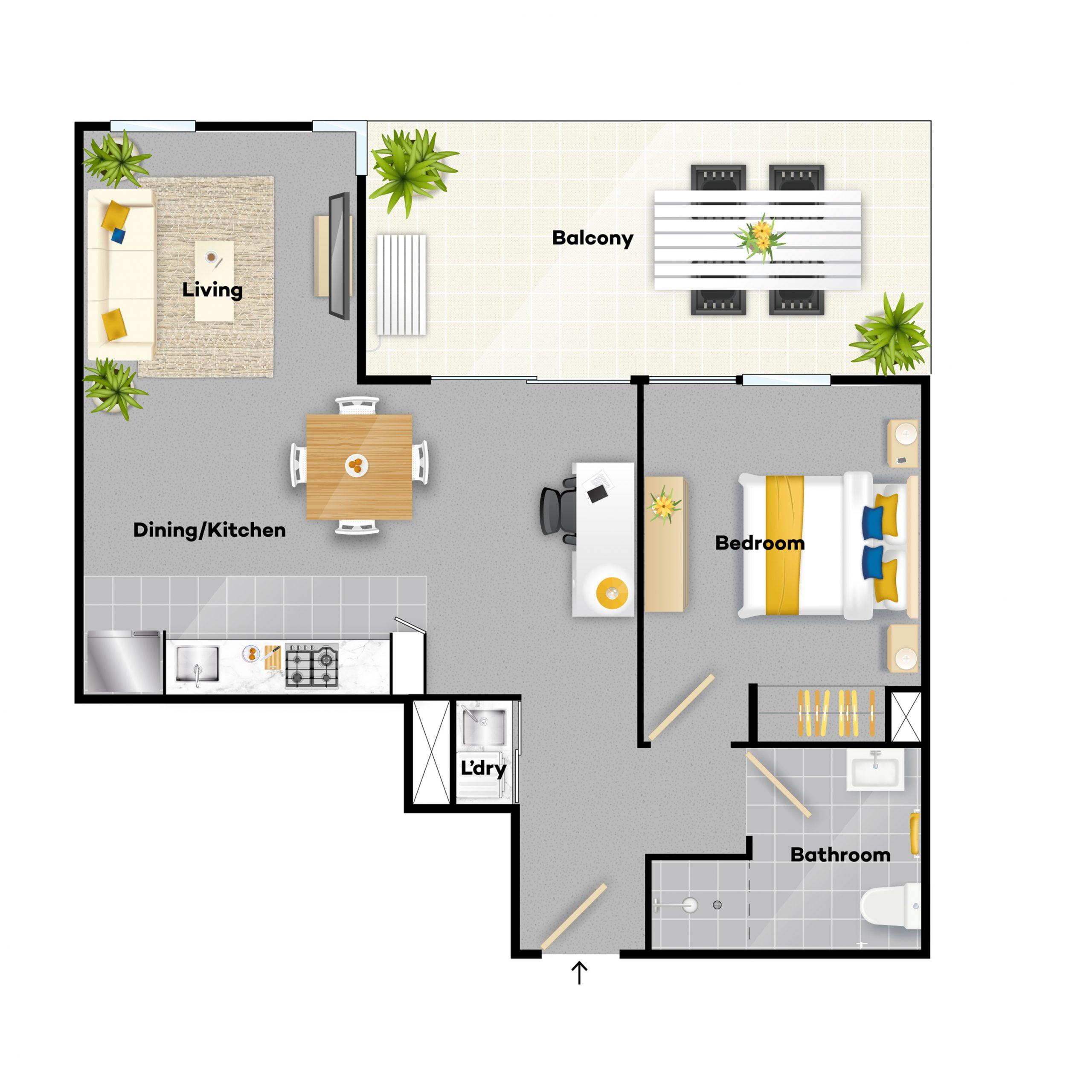 2 Bedroom V4