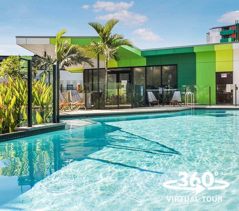 rental properties southport - pool